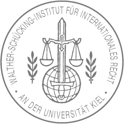 Walther-Schücking-Institut für Internationales Recht (Siegel in grau)